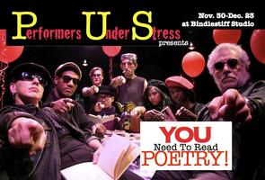 "Attend the World Premiere of ""You Need To Read Poetry!"""
