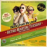 Retro Martini Tuesday for A Good Cause