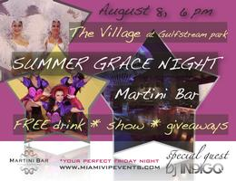 Summer Grace Night: Dance Show, Drinks, and Giveaways