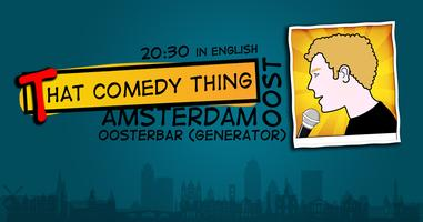 That Comedy Thing Oost | Stand-up Comedy