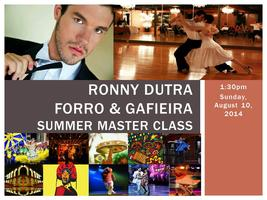 Feel the Connection! Ronny Dutra Summer Master Class!...