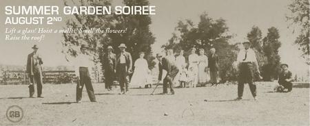 Summer Garden Soiree