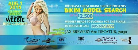 The Coast Finest Model Search Bikini Contest