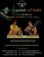 Legends of India - Ustad Shahid Parvez and Pandit...