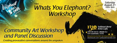 What's Your Elephant? Community Outreach Project -...