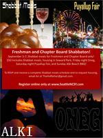 NCSY's Freshman Shabbaton + Kickoff Weekend