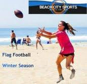 Coed Beach Flag Football, Beach City Sports-STARTS...