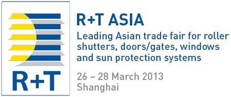 R+T Asia 2013