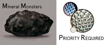 Mineral Monsters by Miljohn Ruperto + PRIORITY...