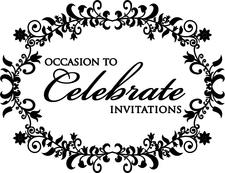 Occasion To Celebrate Wedding & Party Invitations logo