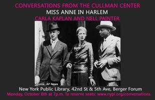Miss Anne in Harlem: Carla Kaplan and Nell Painter