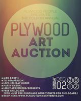 Plywood Art Auction Fundraiser