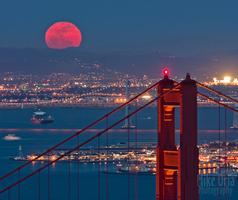 SF Bay Full Harvest Moon Sail 2014