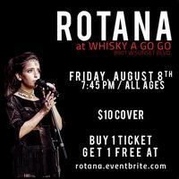 ROTANA @ Whisky a Go Go