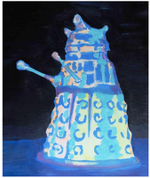 "AUGUST: Canvas Painting Class ""Dalek"""
