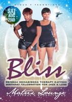 """BLISS A LEO AFFAIR"" REGGAE REHAB & SOCA THERAPY..."