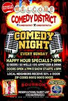 THIS SUNDAY LADIES NIGHT@ COMEDY DISTRICT LA IN...