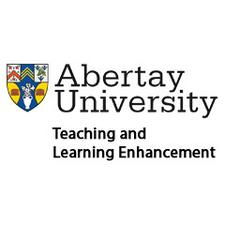 Abertay University Teaching and Learning Enhancement logo