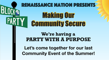Block Party- Making Our Community Secure Tickets, Fri, Oct