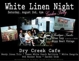 White Linen Garden Party