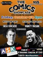 The Comics Showcase w/ Josh Kincade & Monty Mason!