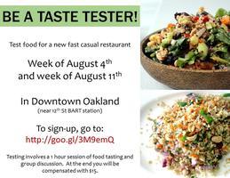 Food Taste Testing!