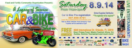 A legacy of Service Car & Bike Show Fundraising