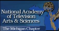 NATAS Michigan & The MSU School of Journalism logo
