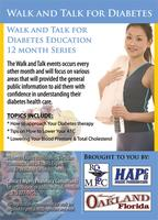 HAPCO - MPC - Walk and Talk for Diabetes- West Orange...