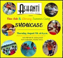 Fine Arts and Literacy Summer Camp  Showcase