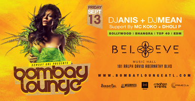 Bombay Lounge | Believe Main Room
