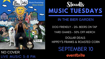 Stoudts Music Tuesday with Shine Delphi