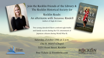 """Rocklin Reads"" - An Afternoon with Author, Suzanne..."