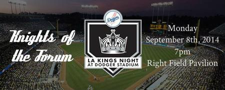 LOS ANGELES KINGS NIGHT AT DODGER STADIUM