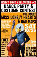 Country & Western Halloween Dance Party w/ Miss Lonely...