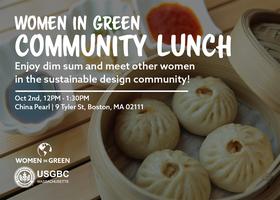 Women in Green: Community Lunch