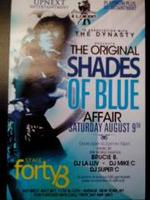 Blue Ice Lights Out Day Party the Original Shades of Bl...