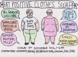 Fat positive clothes swap 2