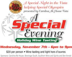 A Special Night in the Vista, Holiday Wine Tasting