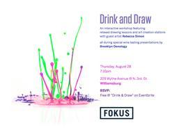 Drink & Draw: Brooklyn!
