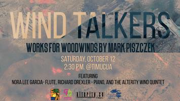 Wind Talkers: Works for Woodwinds by Mark Piszczek