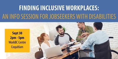 Finding Inclusive Workplaces: Info Session for...