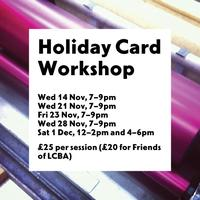 Make Your Own Holiday Cards Workshop
