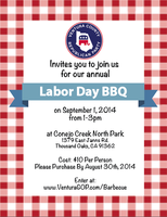 Ventura County Republican Party Labor Day Barbecue!