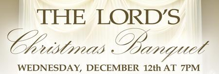 """The Lord's Banquet 2012 - """"Sponsor-A-Table"""""""