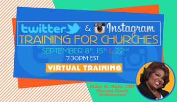 Twitter and Instagram Training for Churches