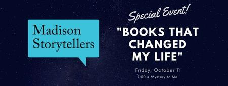 Madison Storytellers @ Mystery to Me: Books That...