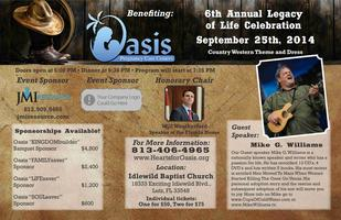 Oasis 6th Annual Legacy of Life Celebration