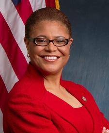 Congressmember Karen Bass logo