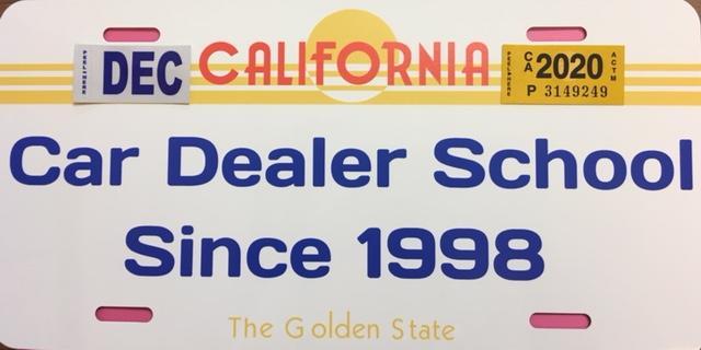 Fresno Private Dealer School Special Offer